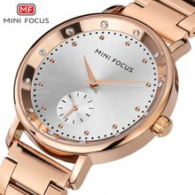 MINIFOCUS Ladies 2019 Top Fashion Female Dress Quartz Watch New Famous Brand Women Watches Montre Femme Clock Relogio Feminino