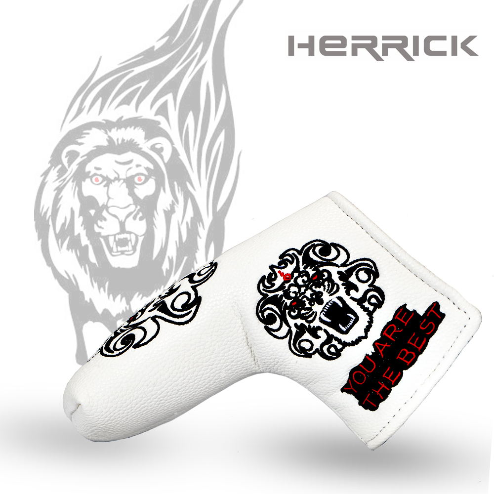 Image 2 - Golf putter headcover golf Head the design of the lion's head Cover with Blade Style 2018 NEW Free Shipping-in Golf Clubs from Sports & Entertainment