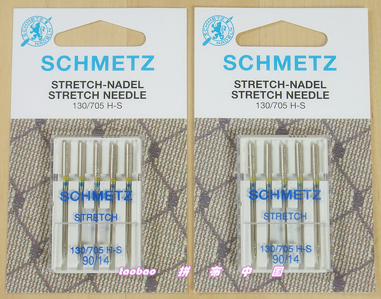 Schmetz Stretch Denim Jeans Leather Microtex Jersey Embroidery GOLD Needle for singer juki brother bernina pfaff janome elna