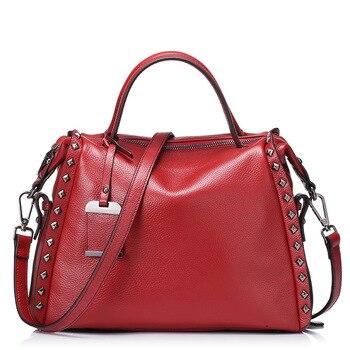 65f299069245 Роскошные женские сумки 2019 летние сумки с ручкой сверху из натуральной  кожи Женская сумочка модная дизайнерская сумка-мешок через плечо
