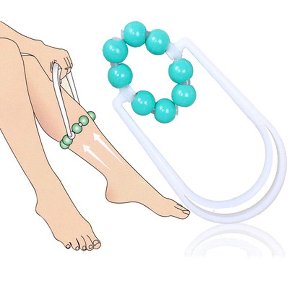KONGDY cuidado de la salud pierna masaje rodillo grasa quemador cuidado de la salud pierna masajeador cuerpo Mini rueda Relax Control de grasa celulitis masaje