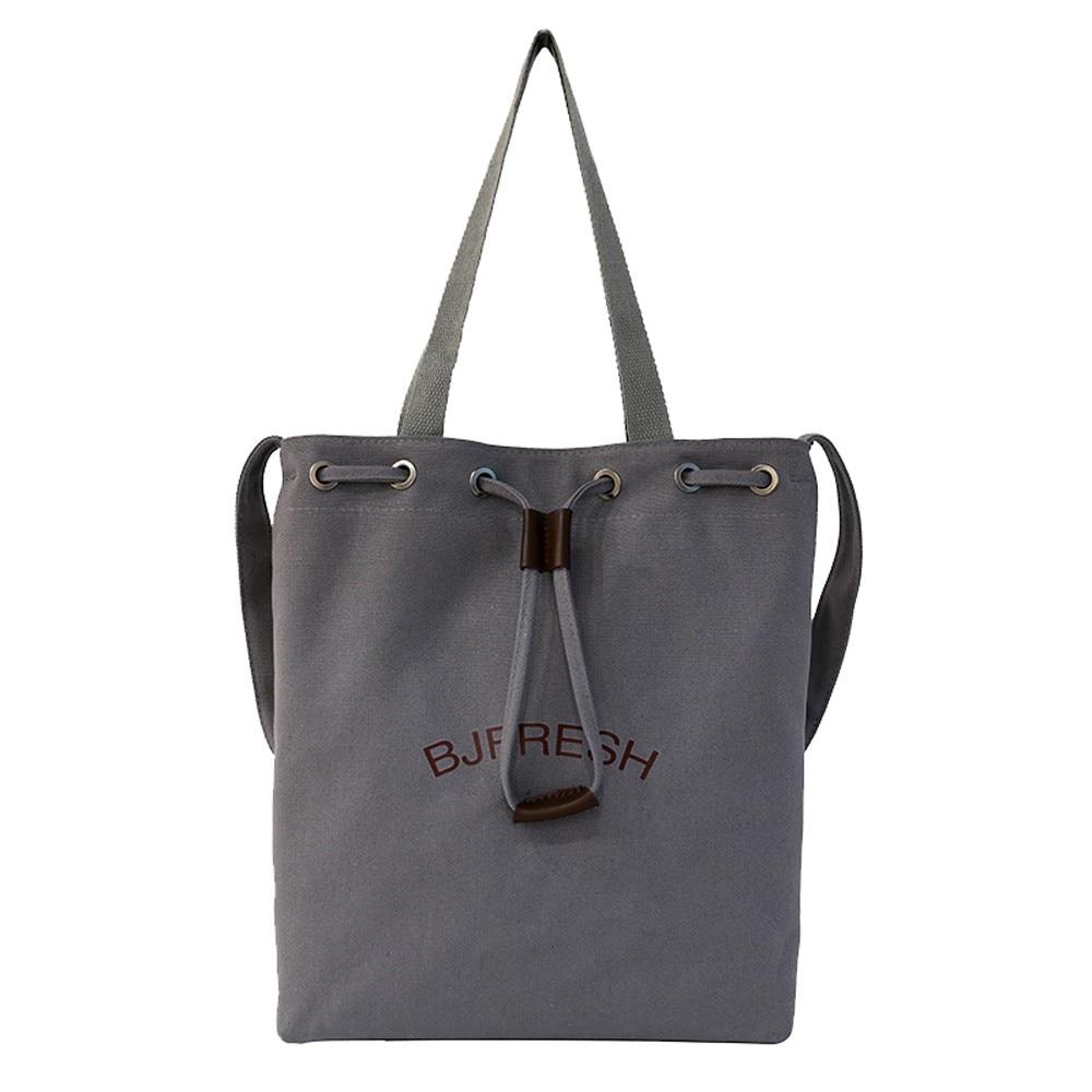 Il Canapa Modo Del Bag bianco Sacchetto Tela Lo Della Body A25 Studente Nero Shopping grigio Piccola Spalla Delle Donne Semplice Mujer Viaggio Di Per Cross Bolsos Palestra Da YqpSX