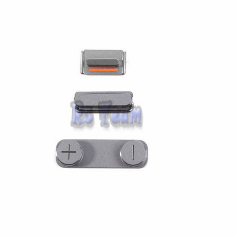 1set/lot Hot Sale High Quality 3 In 1 Side Button For Iphone 5s Se Power On Off Lock Volume Switch Mute Silent Key Set Promote The Production Of Body Fluid And Saliva