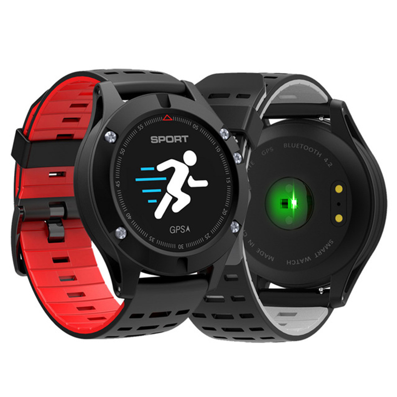 Original F5 Smart Watch with GPS Heart Rate Monitor Smartwatch Waterproof Watch Wristband Sport Fitness Tracker for Android IOS maurini платье maurini m259 50gb 14p коралловый