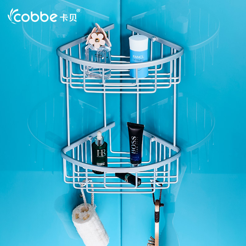 Hot Sale Bath Shelf Bathroom Accessories Aluminium Storage ...