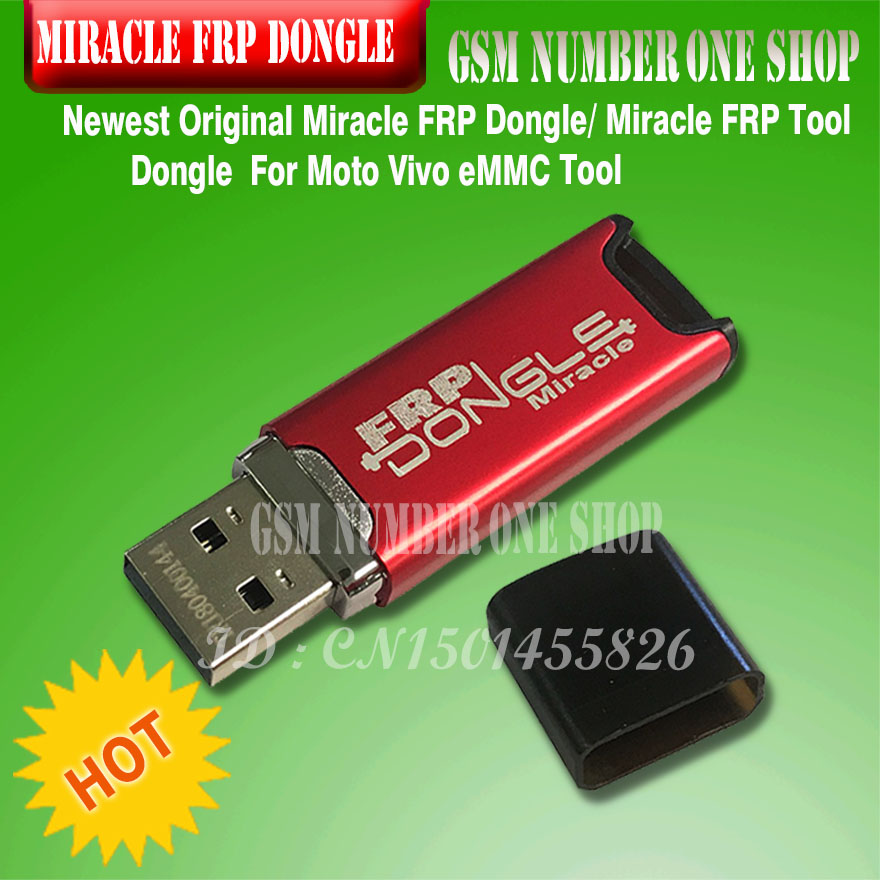 2020 Latest Original Miracle FRP Dongle Miracle FRP Tool Dongle For Moto Vivo EMMC Tool