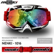 NENKI Lunettes мотокросс очки мото мужчины женские мотоциклетные очки шлем очки внедорожных Байк ATV MX BMX DH MTB очки