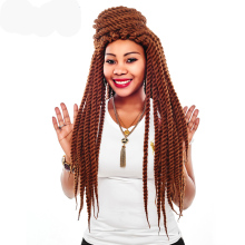 AliLeader Hair Extension 12 18 22 Inch Crochet Braids Burgundy Black Silver Color Havana Twist Synthetic Braiding 1-10pcs