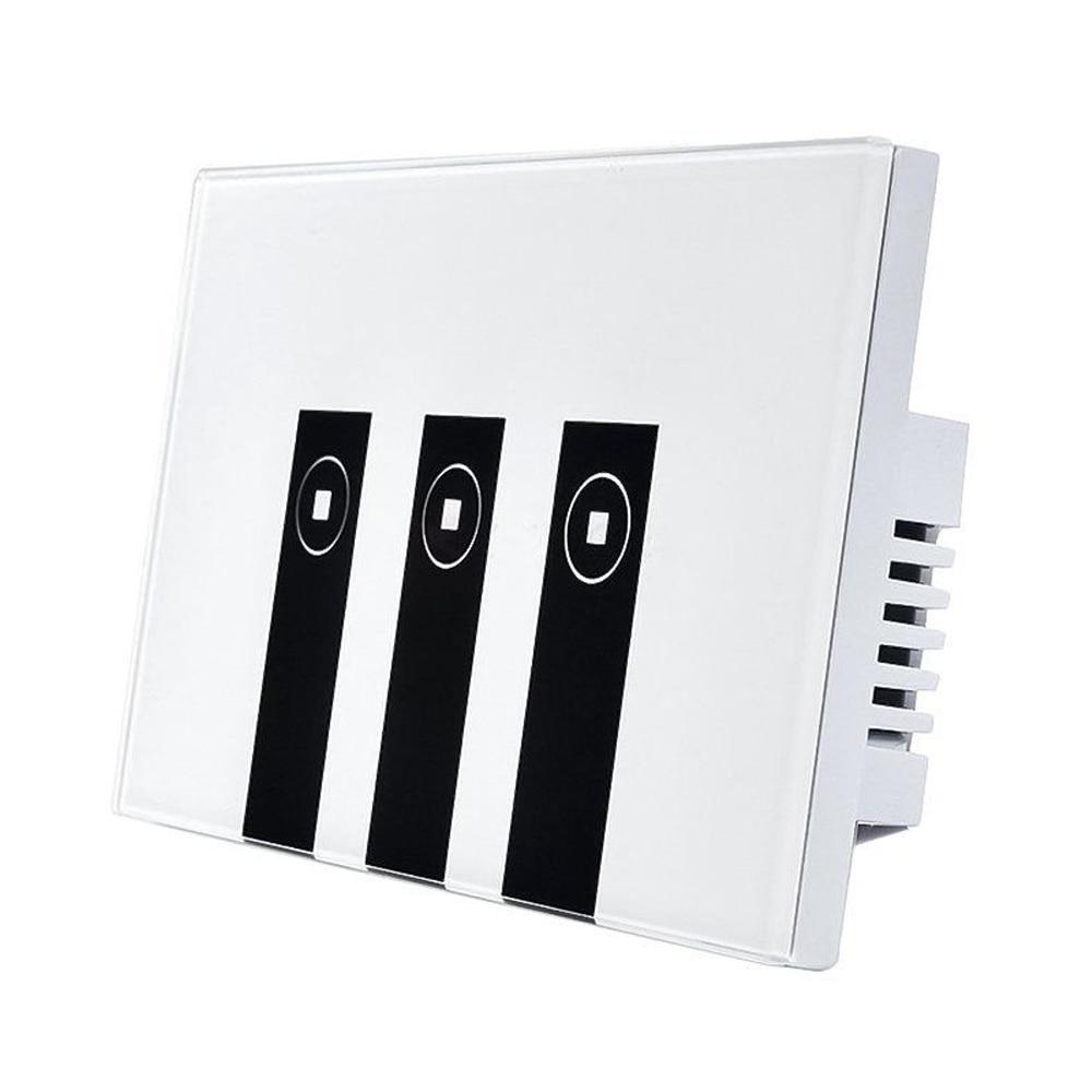 WiFi Smart Alexa Light Switch, 3 Gang Touch Wall Plate Light Switch Panel DropshippingWiFi Smart Alexa Light Switch, 3 Gang Touch Wall Plate Light Switch Panel Dropshipping