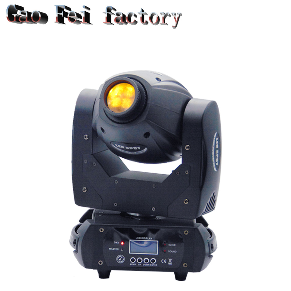 Free shipping 60W LED Moving Head Light 3 Face Prism Spot Light with Rotation Gobo for DJ Stage Dmx