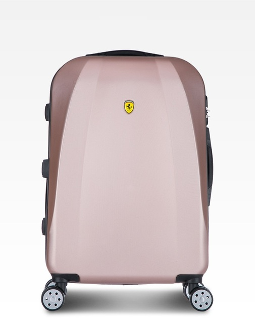 Aluminum frame frosted ABS Trolley Bag Hand Luggage 2017 New Fashion Business Travel Big Space Suitcases With Wheels Road 20 24