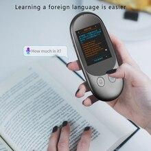 Przenośny tłumacz głosowy Mini kieszeń w czasie rzeczywistym F1 Camera 2.4 cala narzędzie do tłumaczenia ekranu fotograficzny tłumacz skanowania