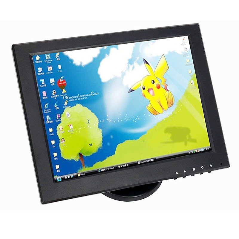 Factory selling 12 inch CCTV TFT LCD Monitor VGA/AV/HDMI/BNC/USB Input Display Security Camera Car Rearview Computer Screen factory selling 12 inch cctv tft lcd monitor vga av hdmi bnc usb input display security camera car rearview computer screen