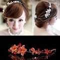 Handmade Headdress with Pearls Wedding Accessories Flower Bride Pearl Lace Hair dinner Party for women