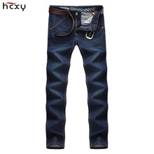 HCXY Famous Brand 2016 Special Offer Autumn & Winter Men's Jeans Men Denim Pants Trousers Male Jeans Casual Fit Straigth