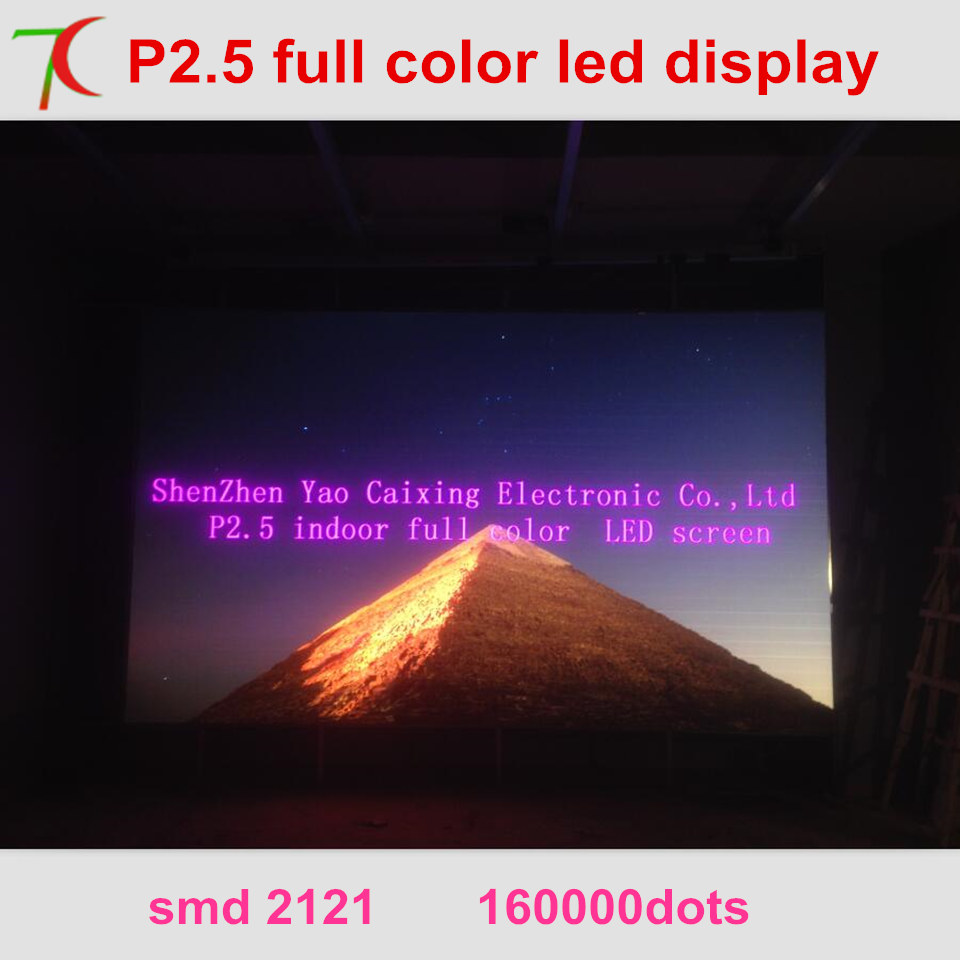 Free Installation Method of P2.5 full color led video wall for meeting room,multi-media classroom ...