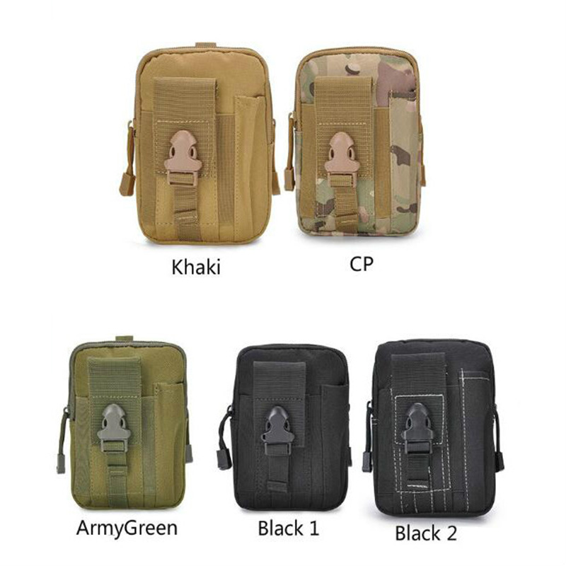 2019 Men Waist Pack Bum Bag Pouch Waterproof Military Belt Waist Packs Molle Nylon Mobile Phone Wallet Travel Tool