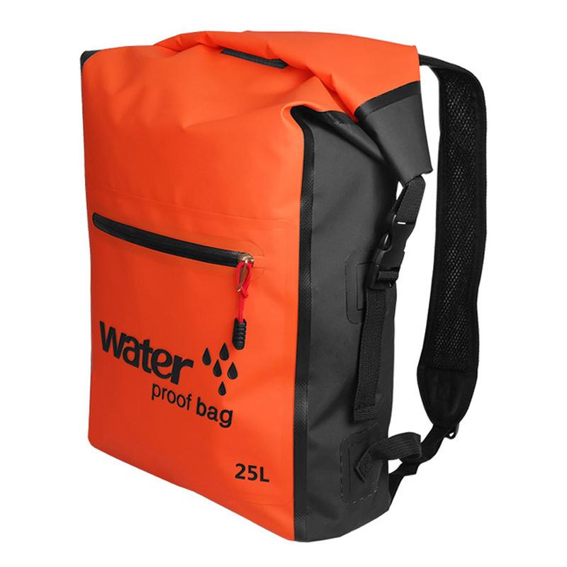 2258c052403c 25L Waterproof Dry Bag Backpack Rucksack Storage Pack For Swimming Rafting  Boating Kayaking Camping Floating Canoeing UK 2019 From Lvmangguo
