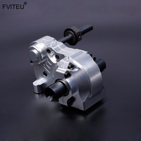 FVITEU three section gear box Complete Diff Gear Box Set(With Metal Case) for HPI BAJA 5B SS 5T 5SC King Motor Rovan