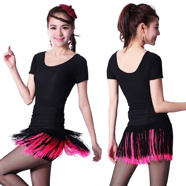 f7aacb250bb 15 видов цветов женские Костюмы для латиноамериканских танцев платье для  танцев для взрослых Костюмы для латиноамериканских