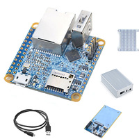 NanoPi NEO2 Kit Allwinner H5 Quad-Core A53 Development Board+8G TF Card+Heat Sink+NAS Case+NAS Dock Expansion Plate NP015