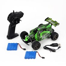 DEER MAN 1:18 Cross Country Vehicle 20KM/H 2 Batteries Remote Control Model Off-Road Toy 2.4GHz Climbing Car