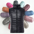 2017 winter fashionable casual men's down vest slim short design thickening Lightweight down jacket vest Free shipping S-3XL