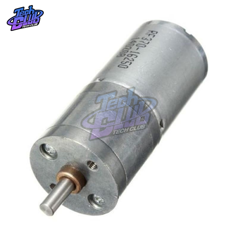 DC <font><b>12V</b></font> 60RPM <font><b>Motor</b></font> Speed Reduction Gear <font><b>Motor</b></font> Electric Powerful Torque <font><b>25mm</b></font> image
