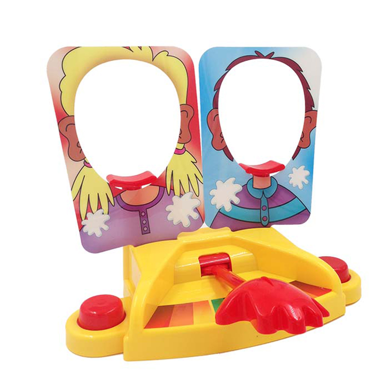 Elsadou Pie Face Double Shoot Family Game Toys ...