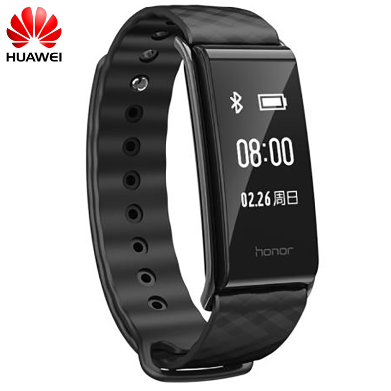 Original Huawei Honor A2 Smart Wristband 0.96 OLED Screen Fitness Tracker Bracelet Huawei Honor Band A2 heart rate monitor huawei honor a2 smart wristband 0 96 oled screen heart rate monitor show message end call ip67 glory play bracelet a2