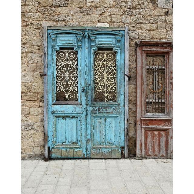 x cm vinilo pao viejo ladrillo tela puerta de madera del arte retrato estudio fotogrfico fondos