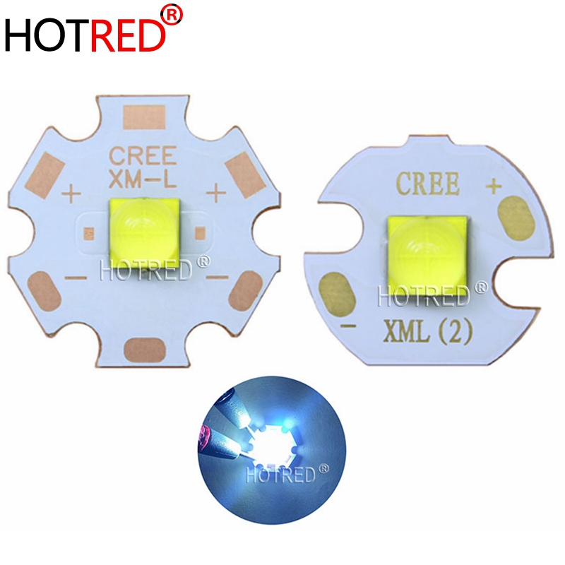 Newset CREE XHP50.2 3V 2nd Generation Cold White 7000K Blue LED Bead Diode Lamp 3V Version 6A With 20mm 16mm DTP Copper MCPCB