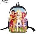 Модные 3D Мультфильм Принцесса Печати Детский Рюкзак для Подростка Девушки Милые Мвд и Меня Дети Школьные Рюкзаки Лошадь Сумки