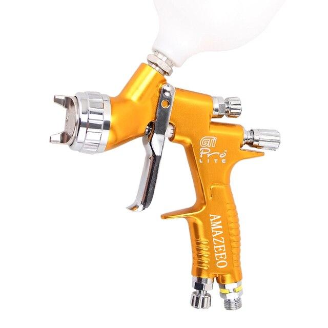 spray gun paint 1.3mm Nozzle GTI PRO Professional HVLP Spray Gun Air Paint Spray Guns Airbrush For Painting Car paint repair