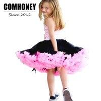 Mädchen Ballettröckchen-rock für Kinder Candy Farbe 1-12 T Kleinkinder Tüll Röcke Bebe Mädchen Tanzabnutzung Baby ballett Petticoat Kleidung