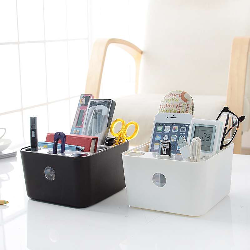 High Quality Multifunctional Desk Organizers Detachable Durable Plastic Home Office Storage Box Makeup Debris Storage Boxes