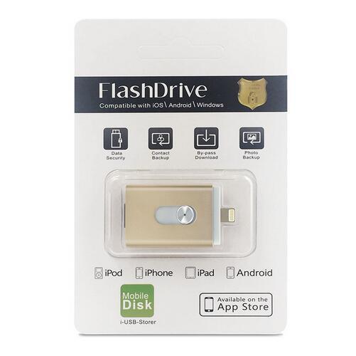 usb flash drive para lphone 5/6/s plus pen drive otg para Relampago mirco usb 3.0 cartao de memoria flash de 16/32/64/128G Hot