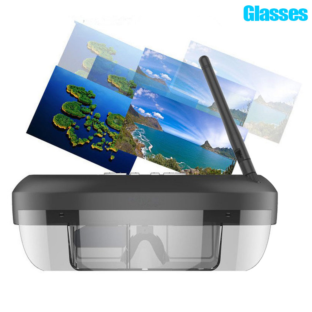 3D 5 8G 40 Channels 68 Inch LCD Display Immersive V Glasses Binocular Eyepatch Fits For