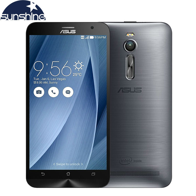 Original Asus Zenfone 2 ZE551ML 4G LTE Mobile Phone Quad Core 5.5'' 13.0MP 1920x1080 NFC Android Smartphone