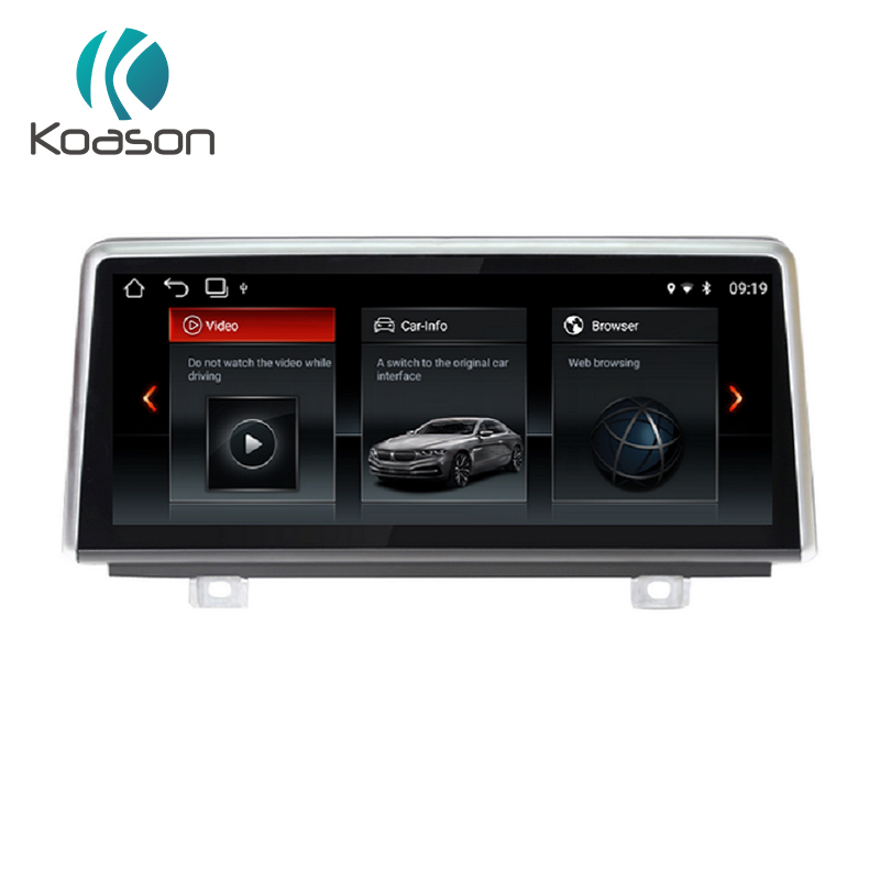 Koason Android 7.1 System 10.25 inch Car audio Auto Video Media Stereo Player for BMW X5 X6 F15 F16 2014-2017 NBT GPS Navigation