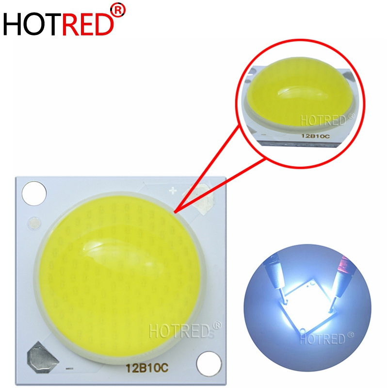 1-10pcs 30W-50W 5500LM Molding Top LENS Flip Chip COB LED Chip Diodes Cold White Warm White Full Spectrum Pink 30-36V 60 Degree