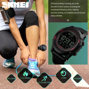 Image 4 - SKMEI Marca Eletrônica Do Bluetooth Relógios para Homens Sports relógios de Pulso Digitais APLICATIVO Lembrar Rastreador De Fitness Assista Relogio masculino