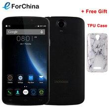 Ursprüngliche doogee x6 5.5 zoll hd-bildschirm android 5.1 smartphone mt6580 Quad Core 1,3 GHz RAM 1 GB ROM 8 GB Dual SIM 3000 mAh batterie