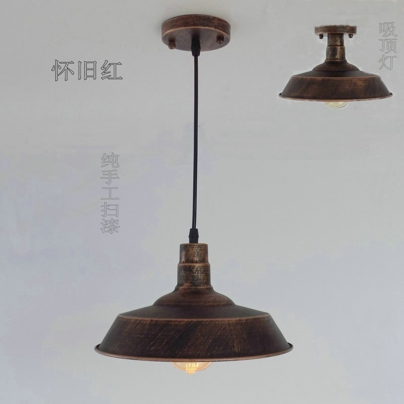 Retro industrial loft Nordic ancient ways wrought iron single head bar creative Pendant Lights медаль убежденному вегетарианцу