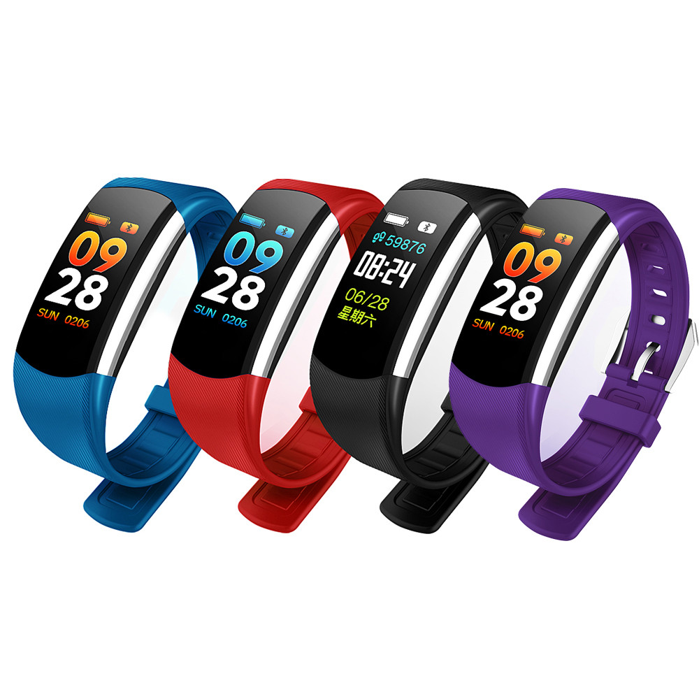 More Stronger Better quality stylish Fitness Smart Watch Bracelet Wristband Fitness Sports Blood Pressure Heart Rate Monitor