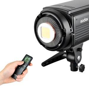 Image 4 - 2 ADET Godox SL Serisi Video Işığı SL 200W Beyaz Versiyonu video ışığı Sürekli Işık + 2x70x100 cm Softbox + 2x280 cm Işık Standı