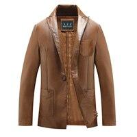 Moda pielęgnuj własnej moralności męskie skórzane męskie skórzane kurtki hit 8 xl fur coat, a ziarna plus-size, darmowa wysyłka