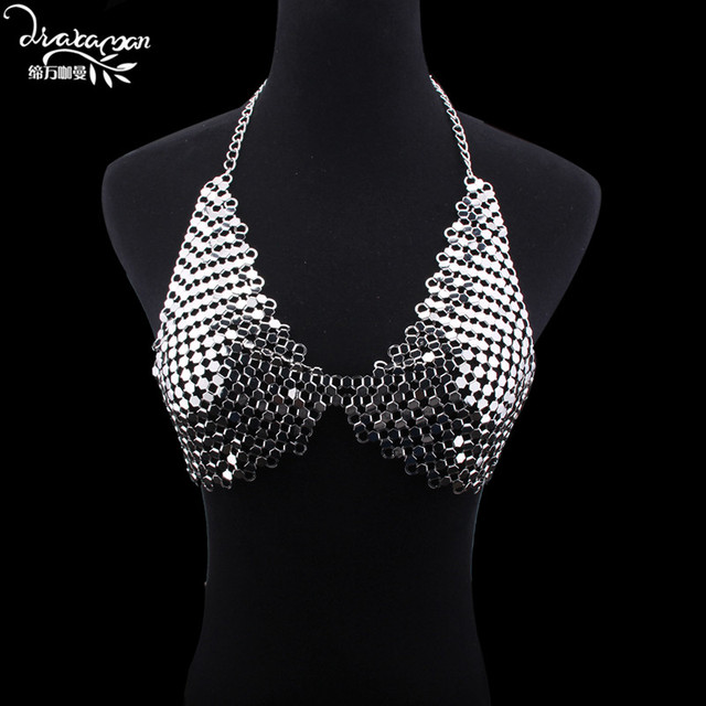 Dvacaman Brand 2017 Unique Handmade Sexy Bikini Statement Necklace Jewelry Women Party Wedding Body Accessory Bijoux Femme G91