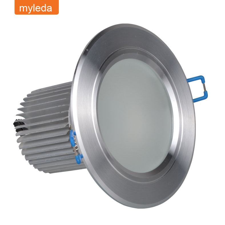 led ceiling lighting 5w 500lm 85-265V LED Recessed celing Down Light for shop hotel hall office home bar