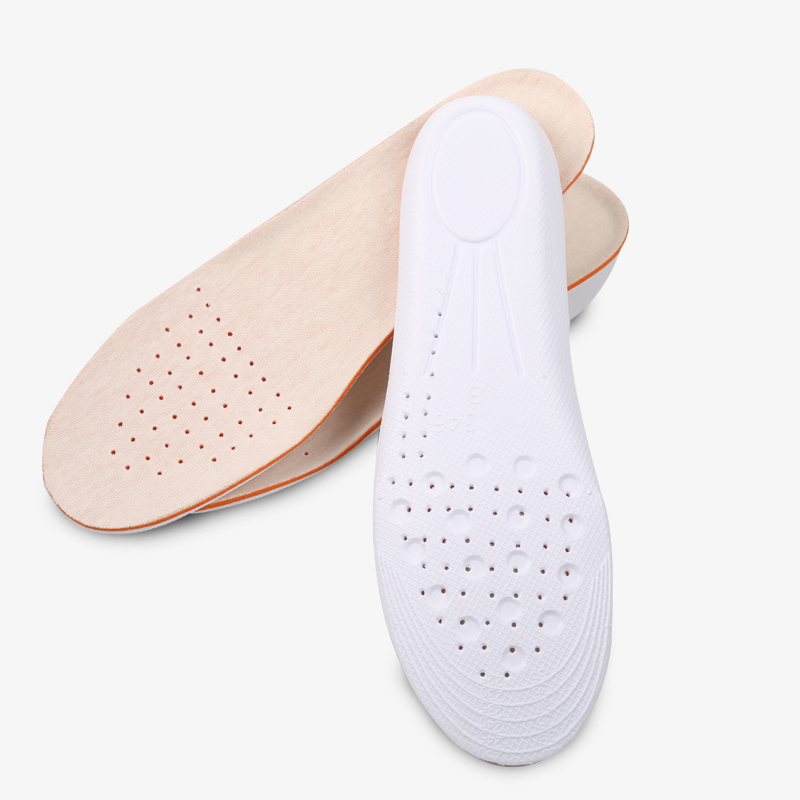 Soybean fiber invisible increase damping breathable shoes Insole for men and women 15mm 25mm 35mm